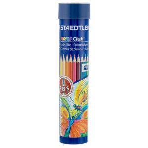 مداد رنگی 12 رنگ استوانه ای استدلر
