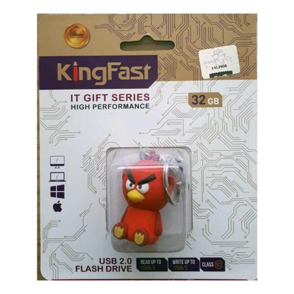 فلش مموری عروسکی کینگ فست مدل AN-15 طرح Angry Birds
