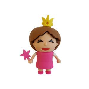 فلش مموری عروسکی کینگ فست طرح Funny Princess