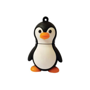 فلش مموری عروسکی کینگ فست طرح پنگوئن