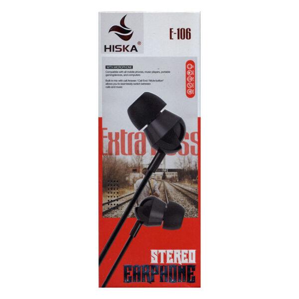 هندزفری هیسکا مدل HK-E106